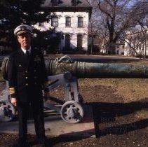 Image of [Captain Pray, former Commander of the Navy Yard] - Frank J. Trezza Seatrain Shipbuilding collection