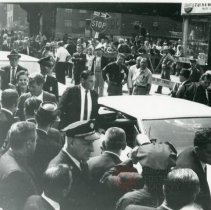 Image of [Robert F. Kennedy in a crowd] - Anthony Costanzo Brooklyn Navy Yard collection