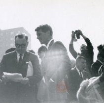 Image of [Robert F. Kennedy at Brooklyn Navy Yard] - Anthony Costanzo Brooklyn Navy Yard collection