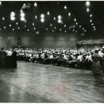 Image of [Rally at Madison Square Garden] - Anthony Costanzo Brooklyn Navy Yard collection