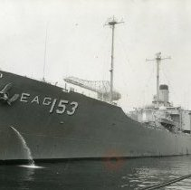 Image of [EAG 153 tanker ship] - Anthony Costanzo Brooklyn Navy Yard collection