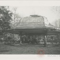 Image of Prospect Park Oriental Pavilion reconstruction  - Jerome Frank photographs