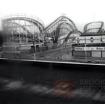 Image of [Cyclone and other attractions] - Anders Goldfarb photographs of Coney Island