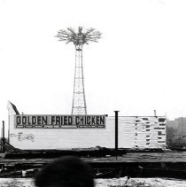 Image of [Golden Fried Chicken and Parachute Jump] - Anders Goldfarb photographs of Coney Island