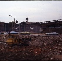 Image of [Razed building construction site] - 1977 Blackout Slide collection
