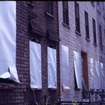 Image of [Side view of townhouses] - 1977 Blackout Slide collection