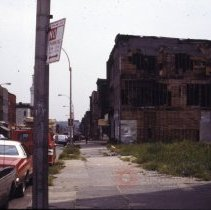 Image of [Bushwick street scene] - 1977 Blackout Slide collection