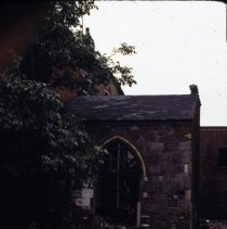 Image of [Small stone and brick building] - 1977 Blackout Slide collection