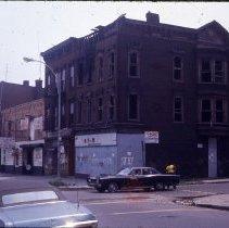 Image of [Bushwick street intersection] - 1977 Blackout Slide collection