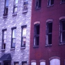 Image of [Town houses] - 1977 Blackout Slide collection