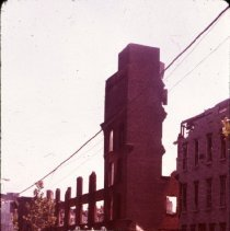 Image of [Demolished building] - 1977 Blackout Slide collection