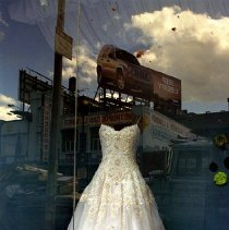 Image of [45th Street wedding dress] - Lucille Fornasieri Gold photographs