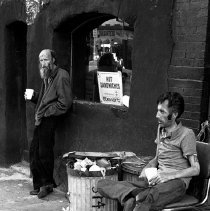 Image of [Homeless men at Doray Tavern] - Lucille Fornasieri Gold photographs