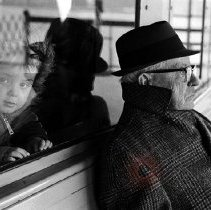 Image of [Child and old man] - Lucille Fornasieri Gold photographs