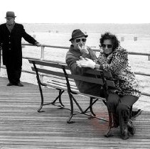 Image of [Coney Island boardwalk] - Lucille Fornasieri Gold photographs