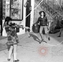 Image of [Girls playing jumprope] - Lucille Fornasieri Gold photographs