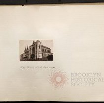 Image of Holy Trinity Church, Montrose Avenue - Eugene L. Armbruster photographs and scrapbooks
