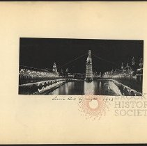 Image of Luna Park by Night 1903 - Eugene L. Armbruster photographs and scrapbooks