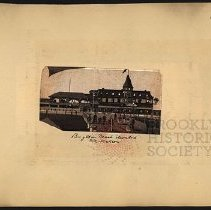Image of Brighton Beach Elevated R.R. Station  - Eugene L. Armbruster photographs and scrapbooks