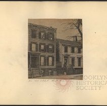 Image of 241-243 Adelphi Street  - Eugene L. Armbruster photographs and scrapbooks