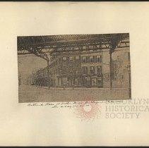 Image of [Ashland Place at Fulton Street] - Eugene L. Armbruster photographs and scrapbooks