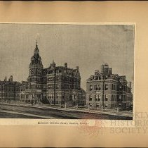 Image of Methodist Episcopal (Seney) Hospital  - Eugene L. Armbruster photographs and scrapbooks