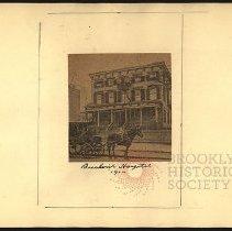 Image of Bushwick Hospital - Eugene L. Armbruster photographs and scrapbooks