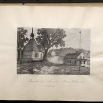 Image of Bushwick church and town house - Eugene L. Armbruster photographs and scrapbooks