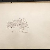 Image of Old Miller House - Eugene L. Armbruster photographs and scrapbooks