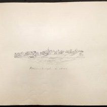 Image of Williamsburgh in 1840 - Eugene L. Armbruster photographs and scrapbooks
