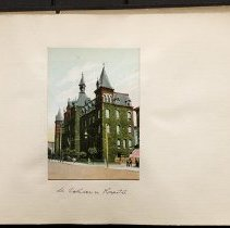 Image of St. Catherine Hospital - Eugene L. Armbruster photographs and scrapbooks
