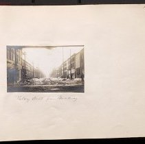 Image of Halsey Street from Broadway - Eugene L. Armbruster photographs and scrapbooks