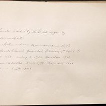 Image of [Armbruster writing on Flatlands and history of Flatlands Church] - Eugene L. Armbruster photographs and scrapbooks