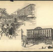 Image of [Atlantic Avenue and Fourth Avenue] - Eugene L. Armbruster photographs and scrapbooks