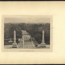 Image of Entrance to Prospect Park  - Eugene L. Armbruster photographs and scrapbooks