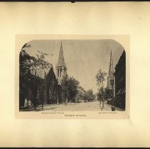 Image of Memorial Presbyterian Church and Grace M.E. Church  - Eugene L. Armbruster photographs and scrapbooks