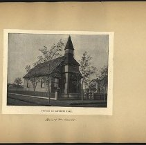 Image of Church at Lefferts Park  - Eugene L. Armbruster photographs and scrapbooks