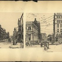 Image of [Columbia Heights and Remsen Street] - Eugene L. Armbruster photographs and scrapbooks