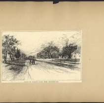 Image of Scene on Country Road Near Bensonhurst  - Eugene L. Armbruster photographs and scrapbooks