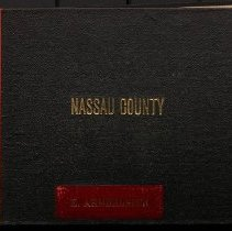 """Image of Cover of """"Views of Nassau County"""" - Eugene L. Armbruster photographs and scrapbooks"""