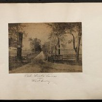 Image of Old Hicks Lane - Eugene L. Armbruster photographs and scrapbooks