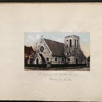 Image of St. Agnes Roman Catholic Church - Eugene L. Armbruster photographs and scrapbooks