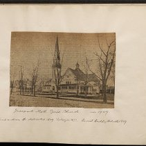 Image of Freeport Methodist Episcopal Church - Eugene L. Armbruster photographs and scrapbooks