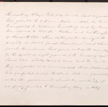 Image of [Humphrey Clay's land patent] - Eugene L. Armbruster photographs and scrapbooks