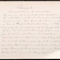 Image of [Sketch of Boswijck by O'Gorman] - Eugene L. Armbruster photographs and scrapbooks