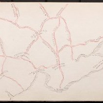 Image of [Map of eastern Brooklyn with roads] - Eugene L. Armbruster photographs and scrapbooks