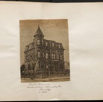 Image of Cook Mansion - Eugene L. Armbruster photographs and scrapbooks