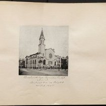 Image of Bushwick Avenue German Presbyterian Church - Eugene L. Armbruster photographs and scrapbooks