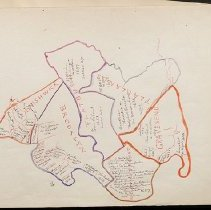 Image of [Seventeenth century Brooklyn land holdings map] - Eugene L. Armbruster photographs and scrapbooks