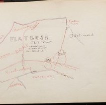 Image of [Map of Flatbush and surround towns] - Eugene L. Armbruster photographs and scrapbooks